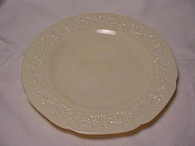 Indiana Custard Dinner Plate