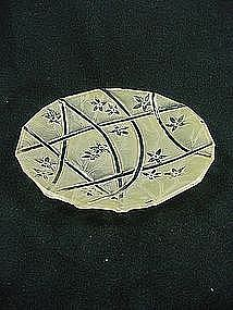 Consolidated Line 700 Bread Plate - Honey Ceramic