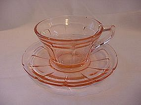 Victory Pink Cup & Saucer Set