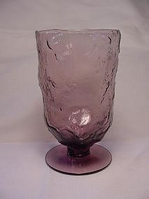 Morgantown Crinkle Footed Tumbler - Amethyst