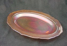 Normandie Iridescent Oval Platter